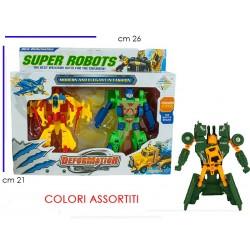 SUPER ROBOT TRASFORMABILE