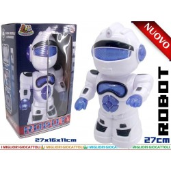ROBOT CON MOVIMENTO E LUCI IN BOX