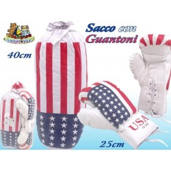 SACCO CON 2 GUANTONI BOX