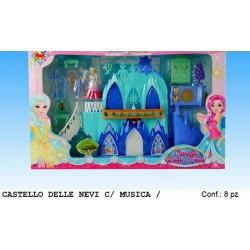 CASTELLO DELLE NEVI CON MUSICA
