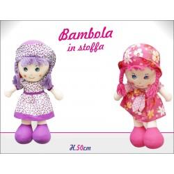 BAMBOLA STOFFA 50cm