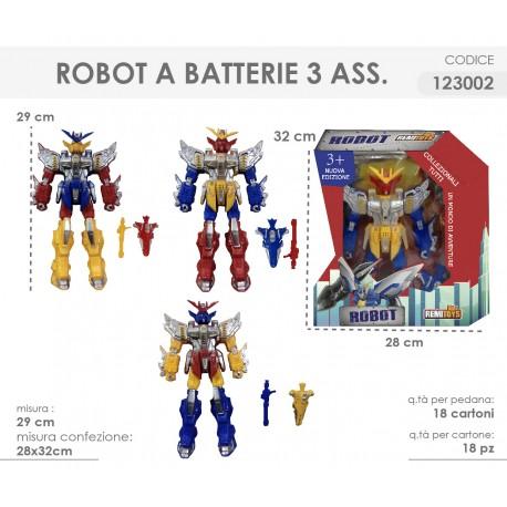 ROBOT 29CM 3 ASS