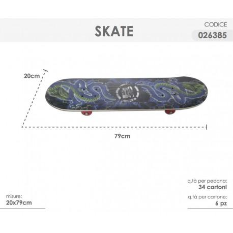 SKATE 20x79cm